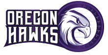 The Oregon Hawks – Football Logo