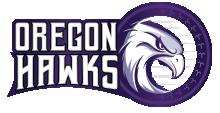 The Oregon Hawks – Football Logo